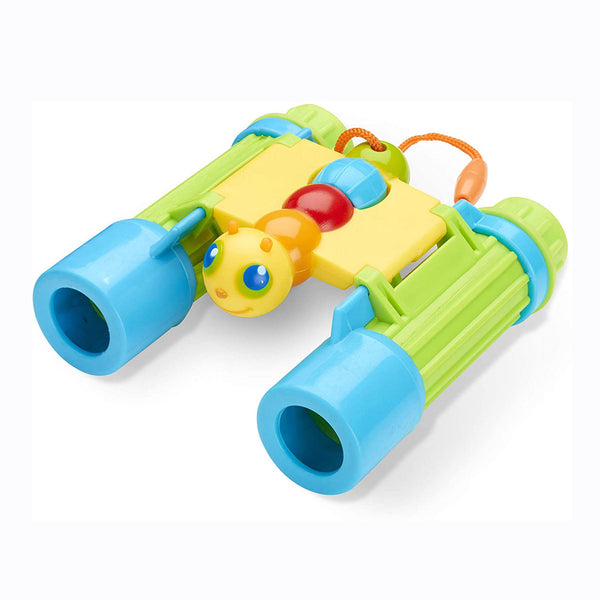 Your little ones can head outside and explore the wonderful world with these Bug binoculars from Melissa and Doug! These binoculars are a great way to get early learners closer to nature and the environment. Outdoor learning has never been so much fun! Encourages observation skills and interest in the natural world.