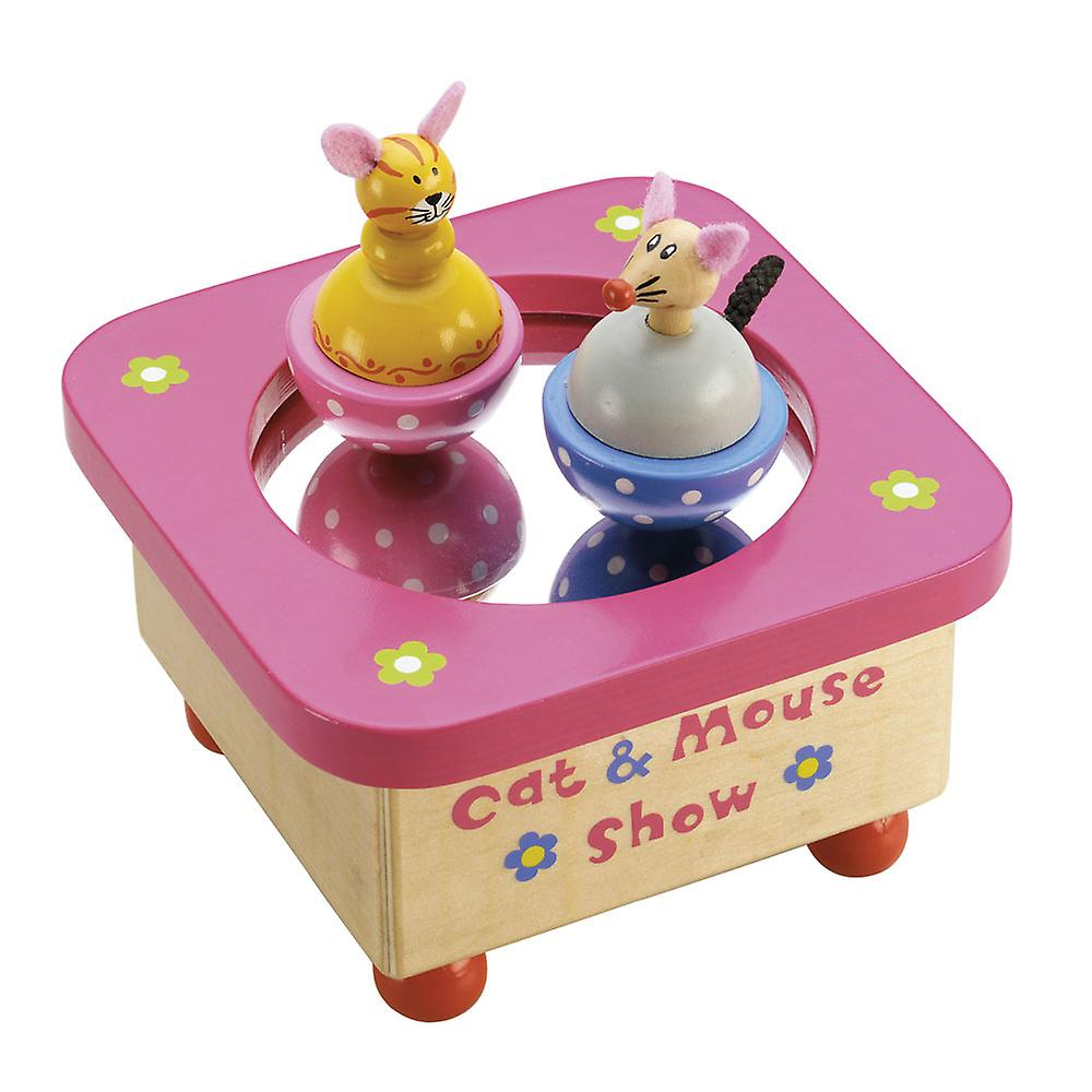 Wind them up and watch them dance with this fun wooden musical dancing toy from Tidlo!