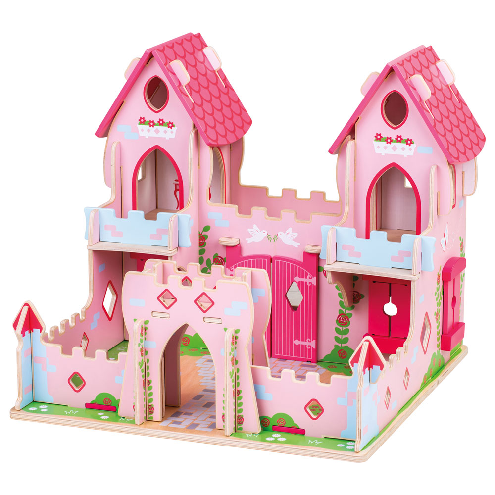 This stunning Fairytale Palace from Bigjigs will make your youngsters feel Royal as they play with the beautiful Princess and charming Prince, who are ready to live happily ever after!