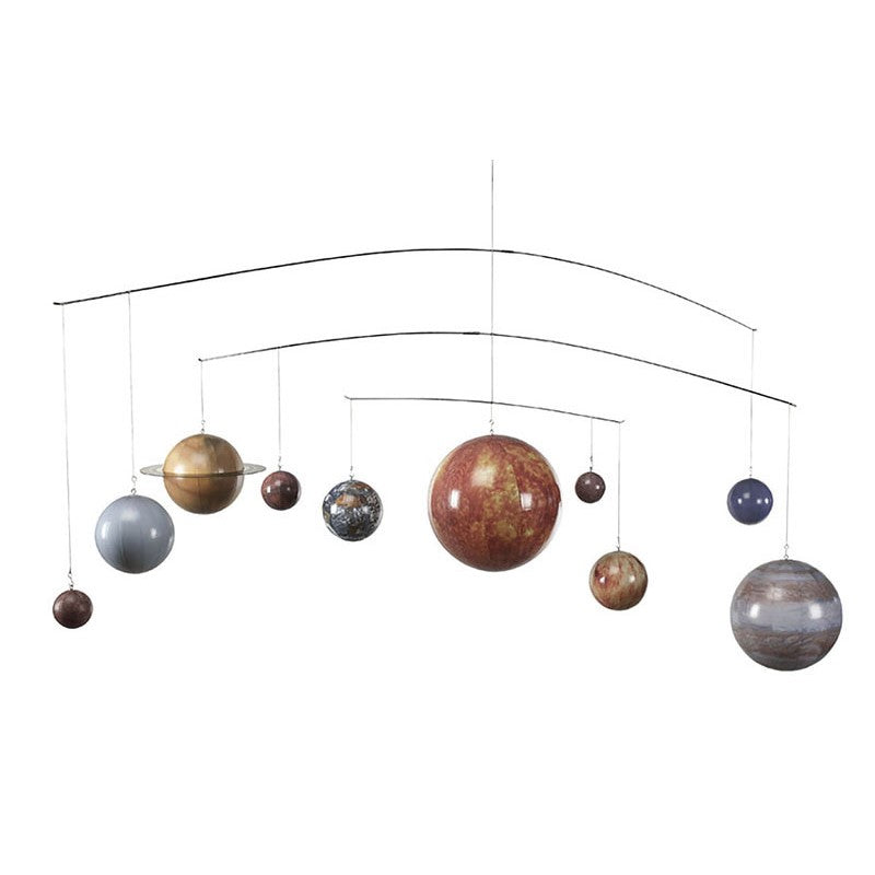 This stunning solar system mobile will have your little ones dreaming about the universe!