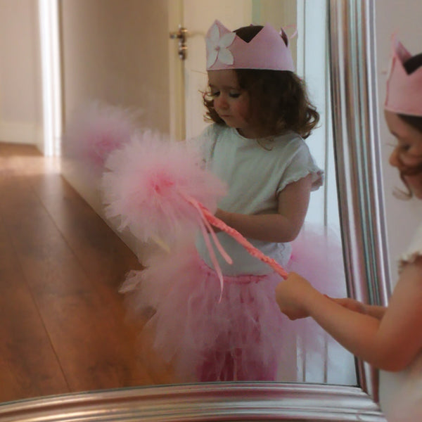 Ballerina Set Dress Up (Crown, Wand and Tutu) - Rooms for Rascals, a Leafy Lanes Retailers Ltd business