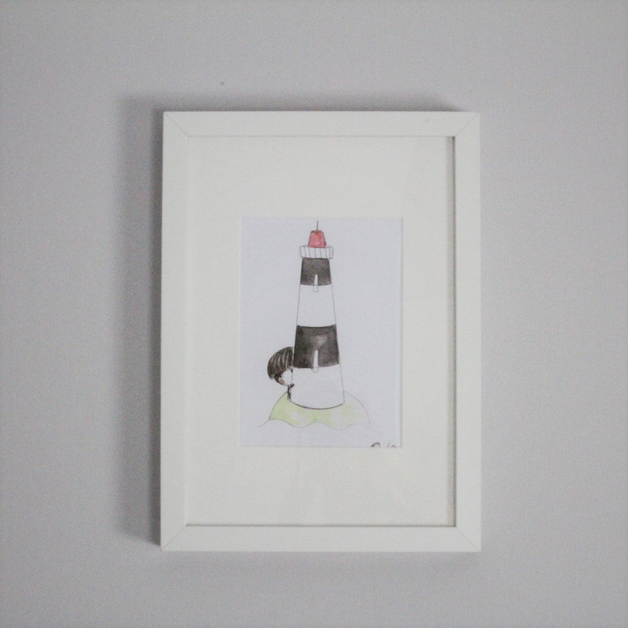 Lighthouse Watercolour Prints (Set of 2) - Rooms for Rascals
