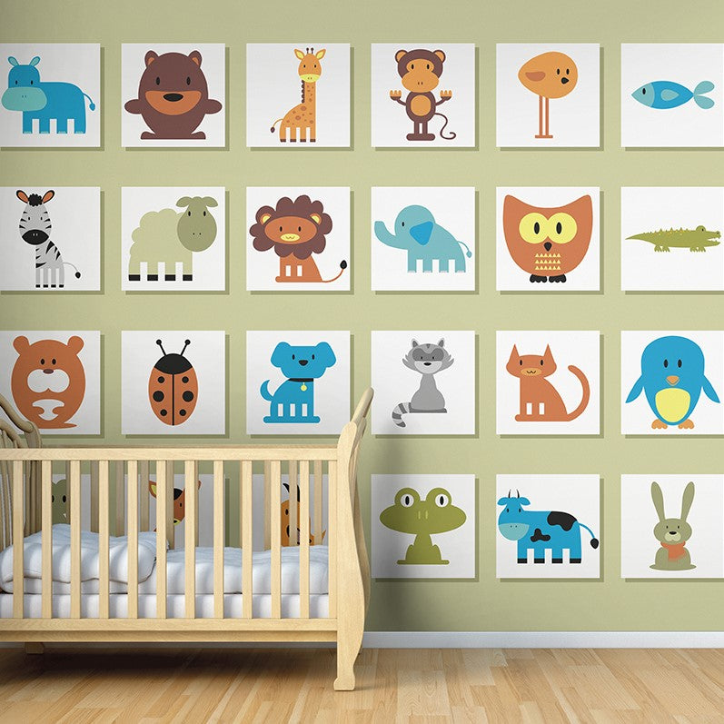It's A Wild Life Wall Mural - Rooms for Rascals