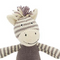 This knitted Zebra baby rattle is a fun and friendly rattle for any newborn or young child.