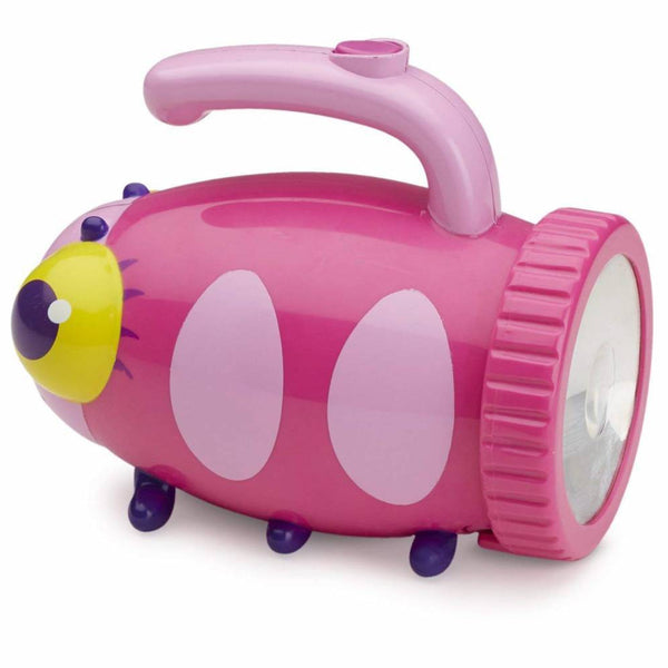 Have fun and explore in the garden at night or even stories under the duvet, with this delightful toddlers ladybird torch from Melissa and Doug.
