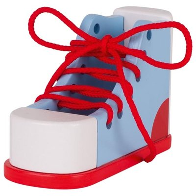 Make tying shoe laces simple and fun for your child with this educational wooden toy!  This product is perfect to make tying your laces fun and stress free! It will help your kids reach the milestone of tying their own shoes. It will also improve their coordination and fine motor skills as they can tie and knot the laces.