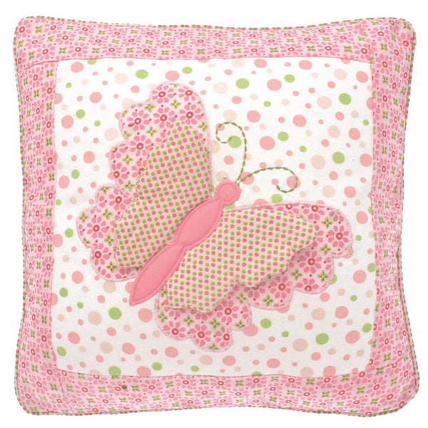 Pink Butterfly Flutterby Cushion - Kids Room Decor | Toys Gifts | Childrens Interiors | Rooms for Rascals