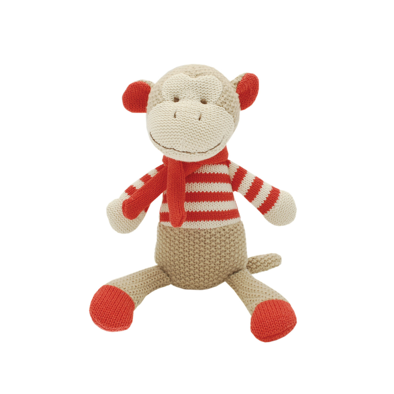 Marcel Monkey Knitted Toy - Rooms for Rascals
