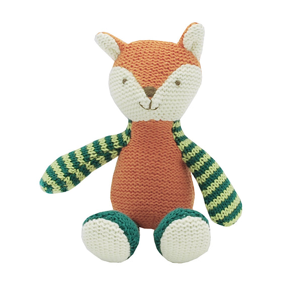 Frankie Fox is a fun and friendly rattle for any newborn or young child.