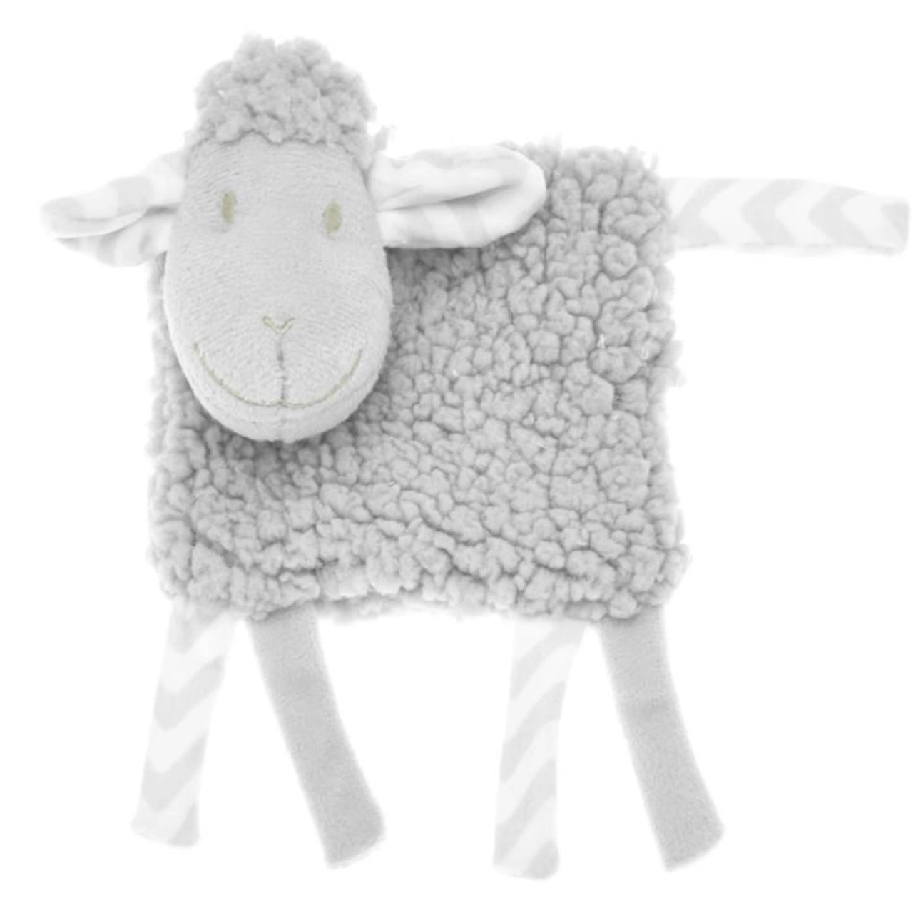 Meet Cuddles the lamb! This super softee rattle is a must have for any newborn to make them feel cosy and secure.