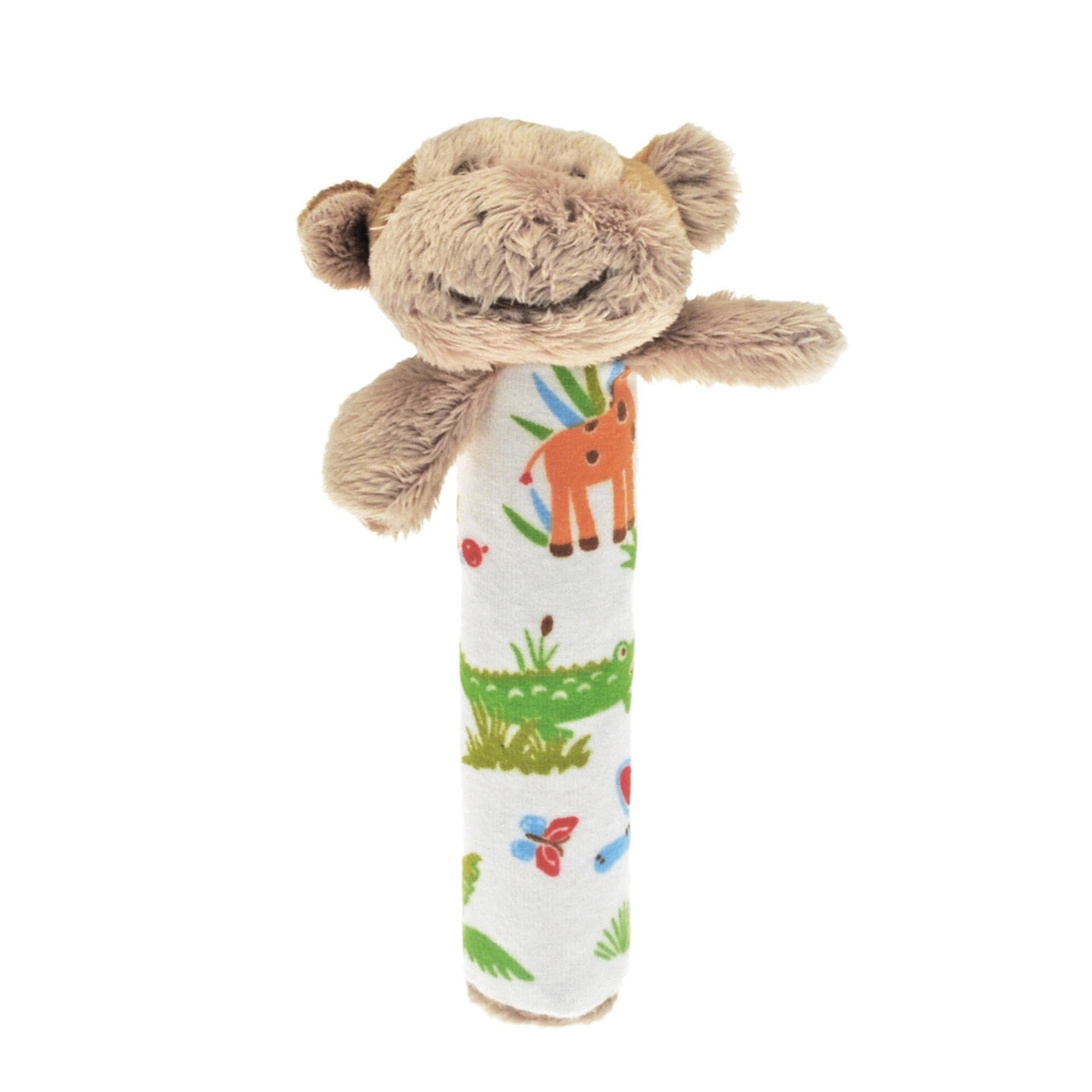 Mungo the Monkey Baby Rattle - Rooms for Rascals