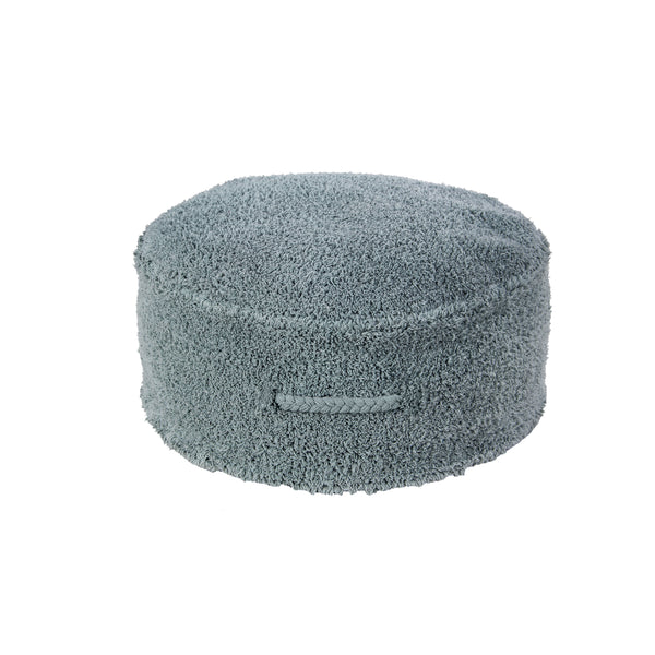 Chill Washable Pouffe - Vintage Blue - Rooms for Rascals, a Leafy Lanes Retailers Ltd business
