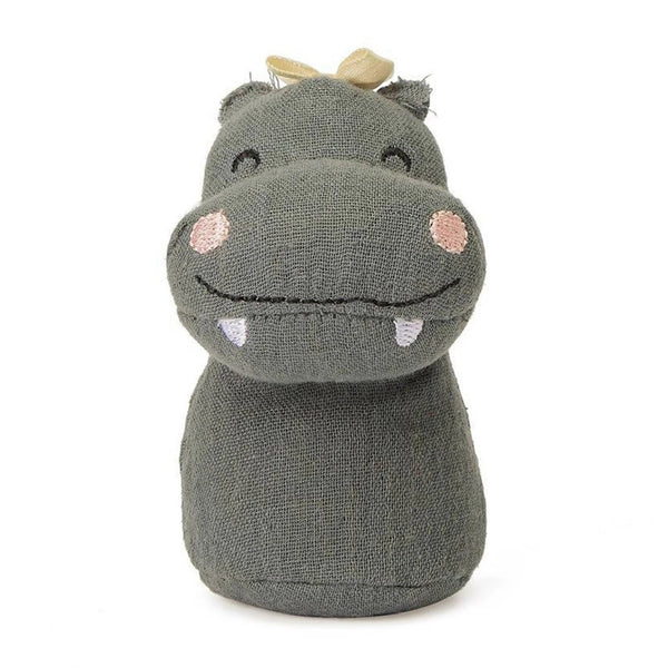 This beautifully handmade Hippo mini rattle from Picca LouLou is perfect for little hands and the ideal size to keep in your bag to keep them amused whilst out and about.