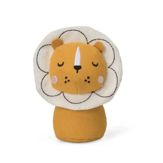 This beautifully handmade Lion mini rattle from Picca LouLou is perfect for little hands and the ideal size to keep in your bag to keep them amused whilst out and about.