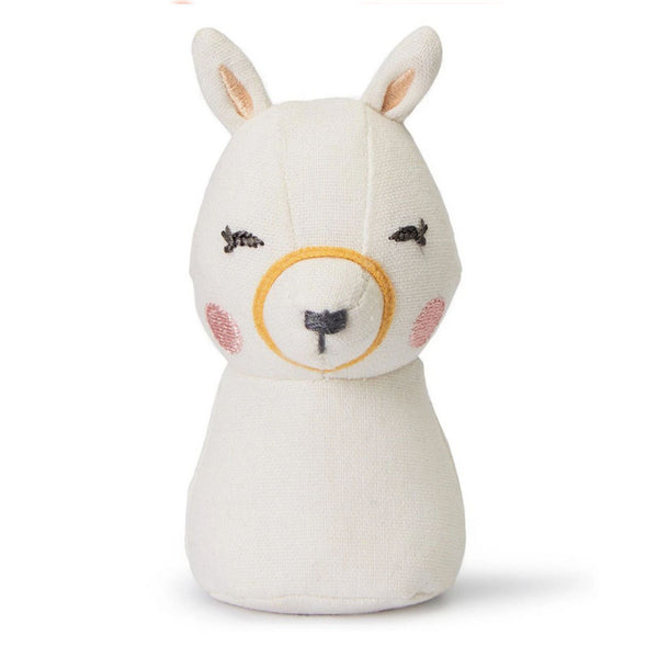 This beautifully handmade Llama mini rattle from Picca LouLou is perfect for little hands and the ideal size to keep in your bag to keep them amused whilst out and about.