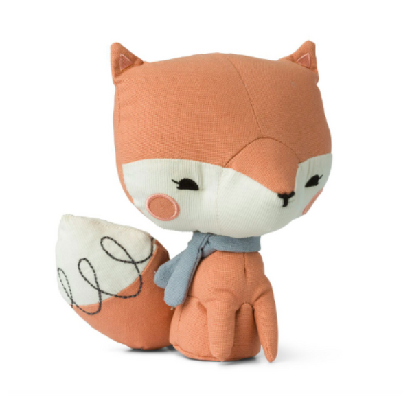Pink Fox Soft Toy in a Gift Box