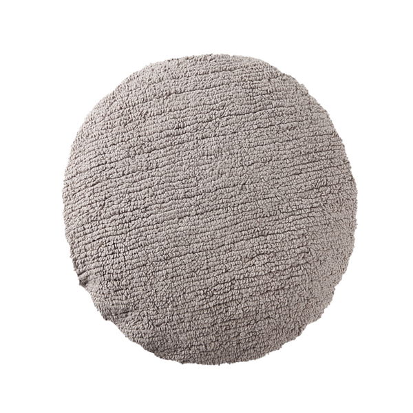 Big Dot Washable Cushion - Light Grey - Rooms for Rascals, a Leafy Lanes Retailers Ltd business