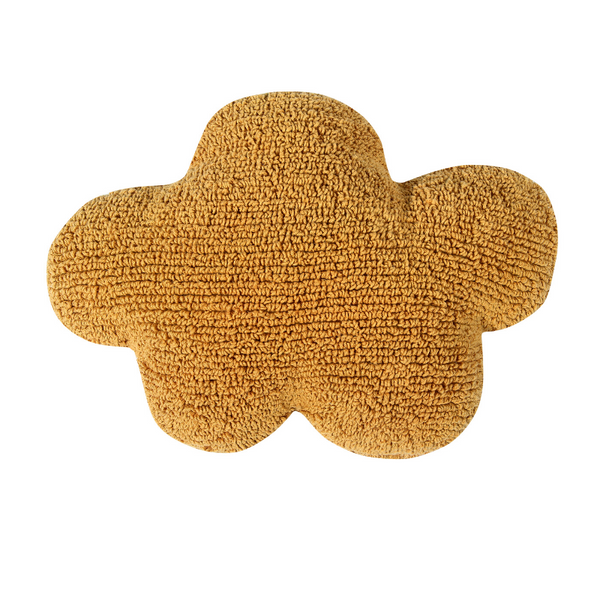 Cloud Washable Cushion - Mustard - Rooms for Rascals, a Leafy Lanes Retailers Ltd business