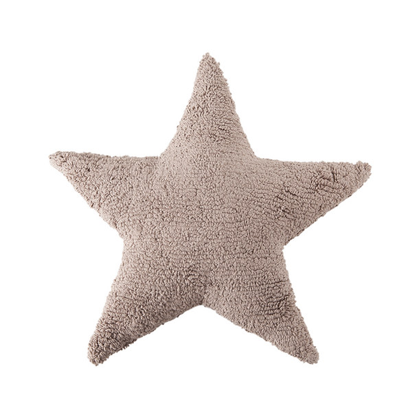 Big Star Washable Cushion - Linen - Rooms for Rascals, a Leafy Lanes Retailers Ltd business