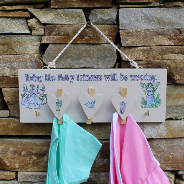Today the Fairy Princess Will Be Wearing - Kids Room Decor | Toys Gifts | Childrens Interiors | Rooms for Rascals