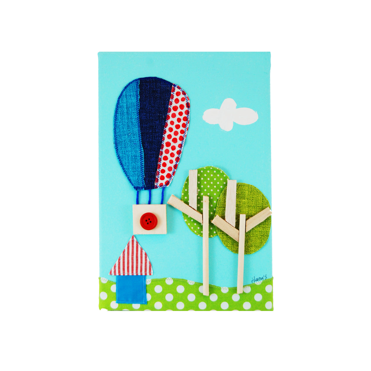 Hot Air Balloon Picture - Rooms for Rascals