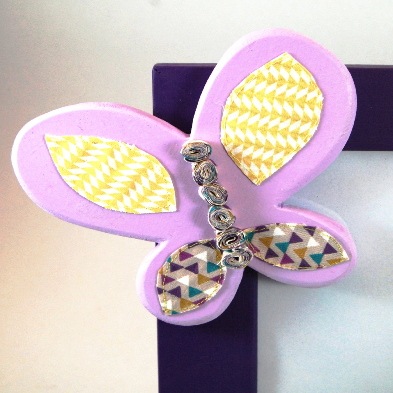 Butterfly Photo Frame - Kids Room Decor | Toys Gifts | Childrens Interiors | Rooms for Rascals