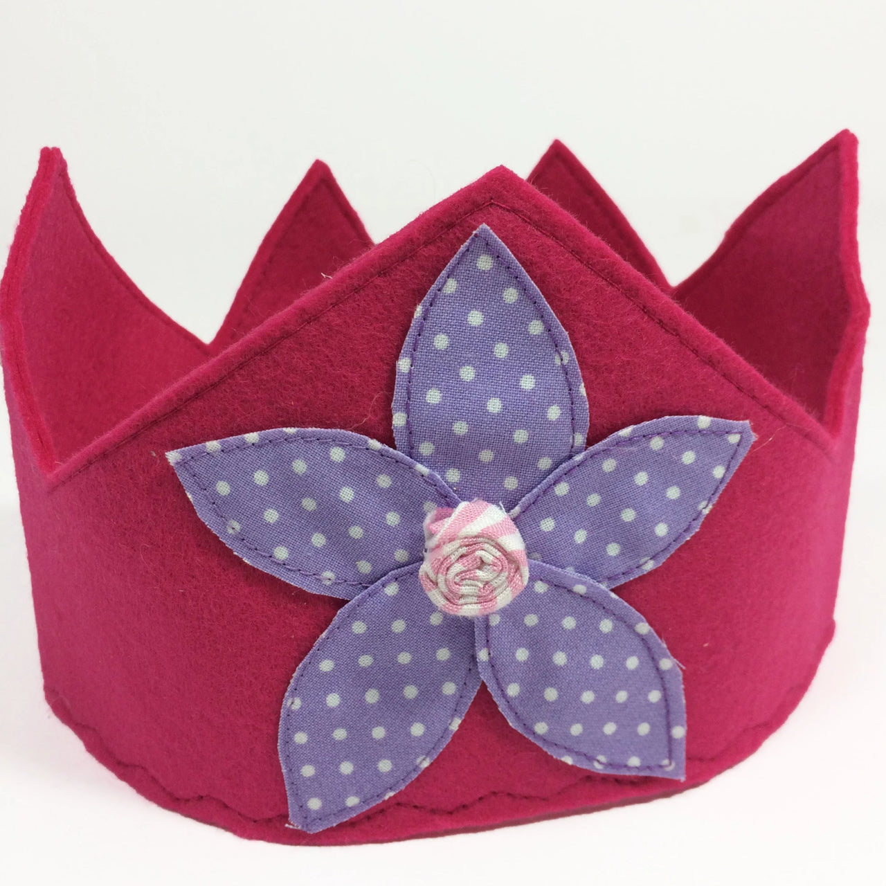 Princess Crown Fuschia. Our little Princess Crown will surely ignite the imagination of your little lady! It is perfect for birthdays, dress up parties, or simply hanging around as a princess everyday!