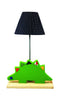 Dinosaur Side Lamp with Wooden Base - Kids Room Decor | Toys Gifts | Childrens Interiors | Rooms for Rascals