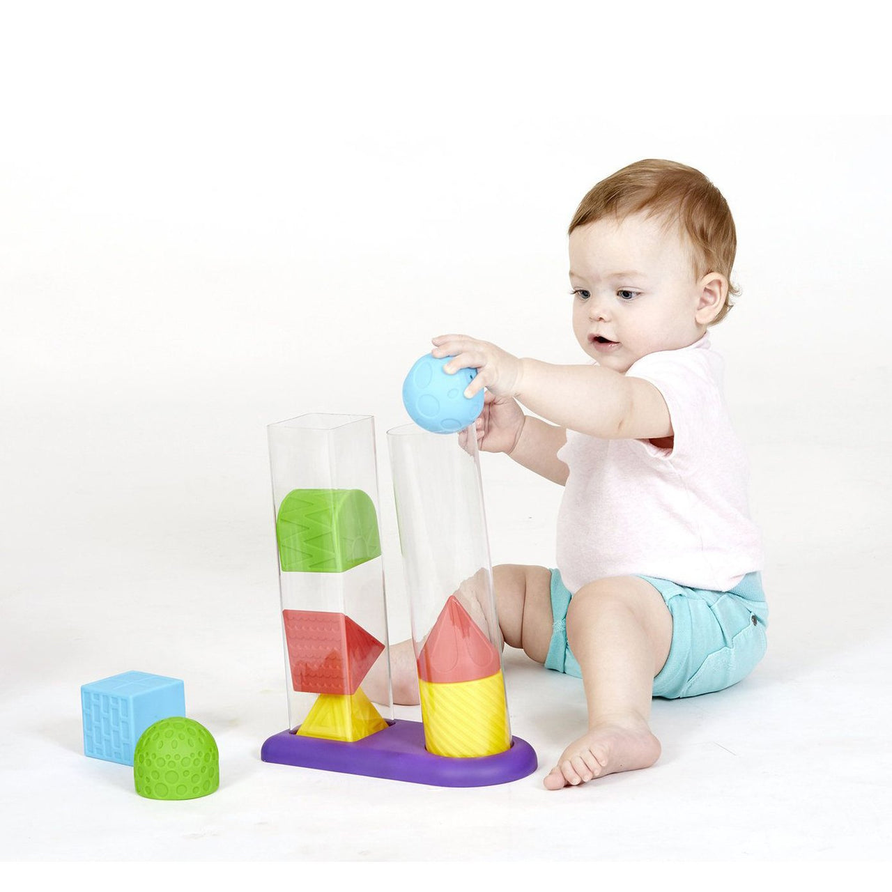 Geostackers Sensory Toy - Rooms for Rascals