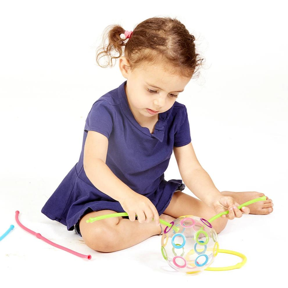 Thread-O Ball Sensory Toy - Rooms for Rascals