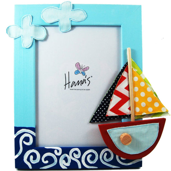 Sea Boat Photo Frame - Rooms for Rascals