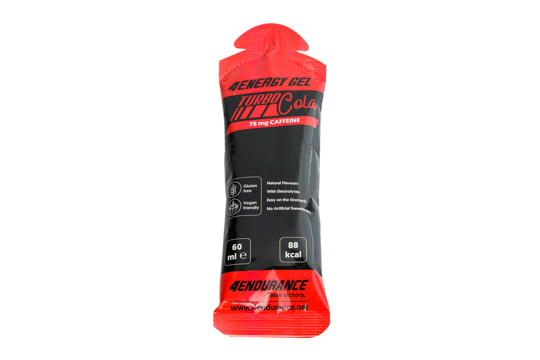 4Energy gel TURBO - 60ml (with Caffeine - 75mg / gel) 1.5.21