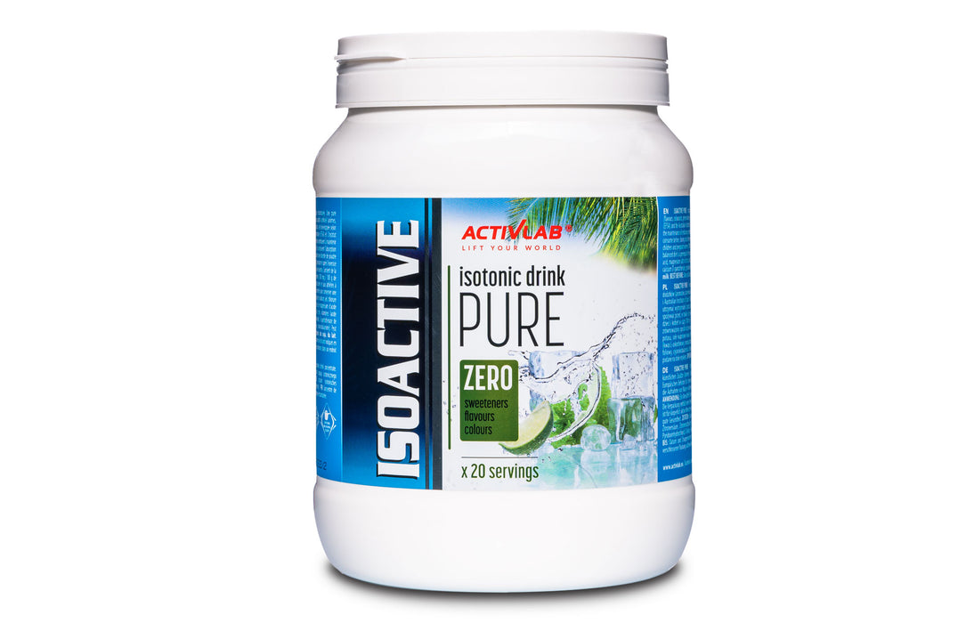 Isoactive PURE - 680g - NATURAL isotonic drink