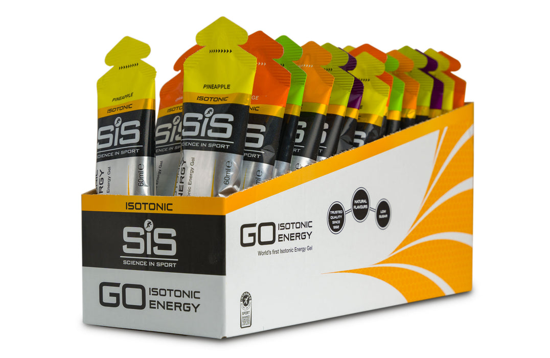 30x SiS GO Isotonic Gel 60ml - EXP date: JUNE / 2021