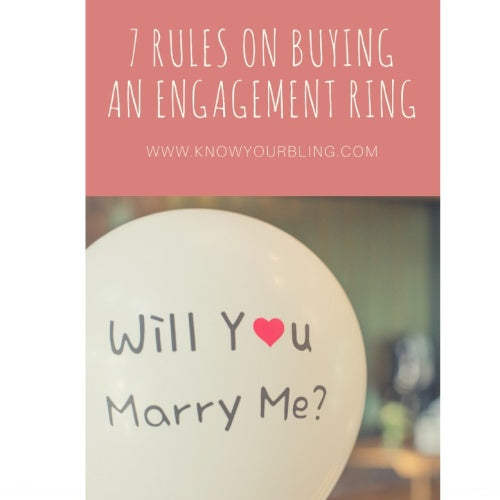 7 Rules on Buying an Engagement Ring