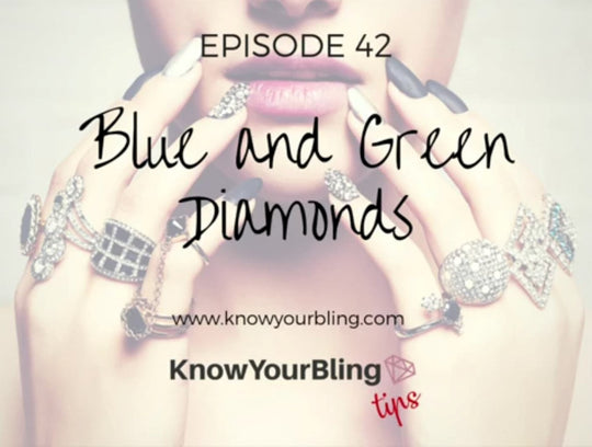 Episode 42: Blue and Green Diamonds