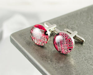 Circuit Breaker Labs - Red Cufflinks