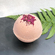 Load image into Gallery viewer, wild rose bath bomb