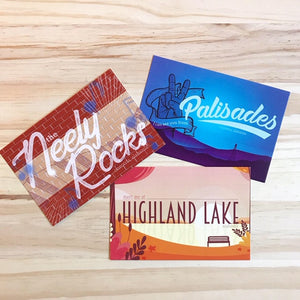 Highland Lake postcard