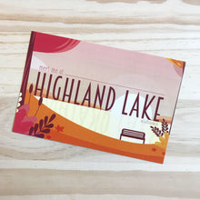 Load image into Gallery viewer, Highland Lake postcard
