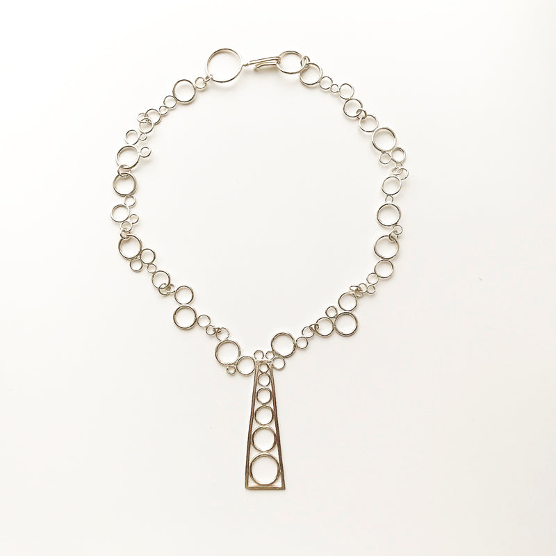 Leigh Lynn necklace - sterling bubble factory
