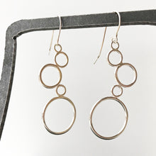 Load image into Gallery viewer, Leigh Lynn earrings - sterling bubbles
