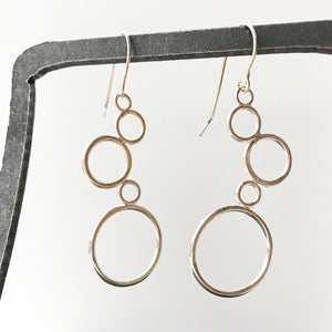 Leigh Lynn earrings - sterling bubbles