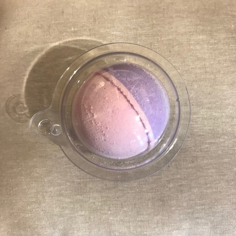 4 oz. bath fizz ball - black raspberry vanilla