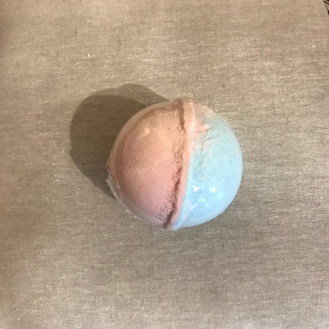 4 oz. bath fizz ball - unicorn