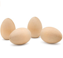 Load image into Gallery viewer, 12 Wooden Eggs