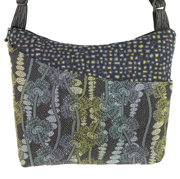 Maruca Design Cottage handbag - Warped Floral Cool