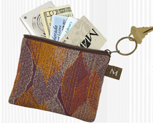 Load image into Gallery viewer, Maruca Design coin purse - Warped Floral Cool