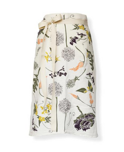 June & December - Flowering Veggies Bistro Apron