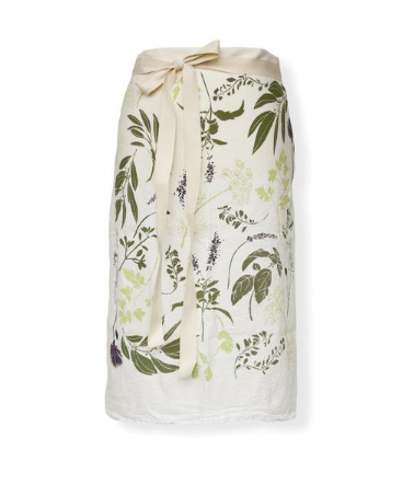 June & December - Herb Sprigs Bistro Apron